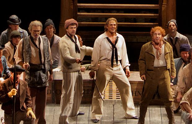 A scene from Britten's Billy Budd