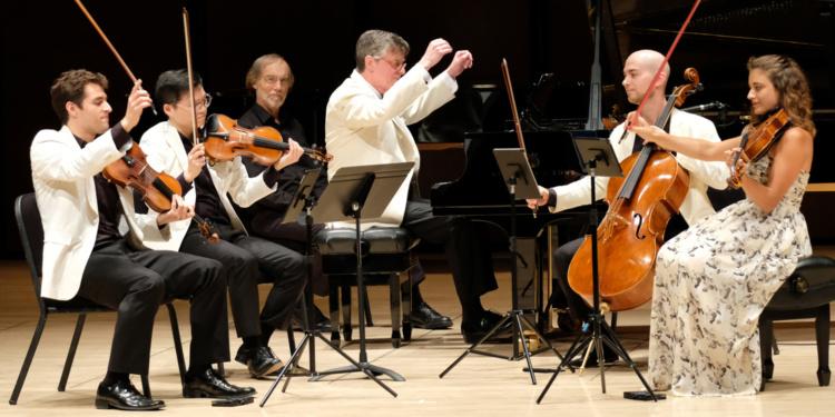 Peter Serkin and Dover Quartet